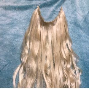 New blonde extensions